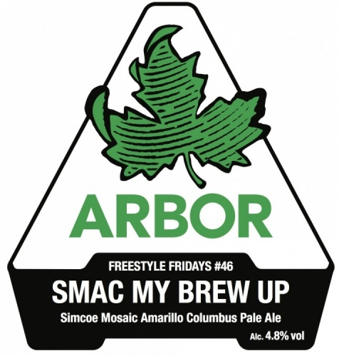 Arbor SMAC My Brew Up 4.8% 9g