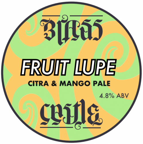 Brass Castle Fruit Lupe 'Citra & Mango' 4.8% 30L Key Keg