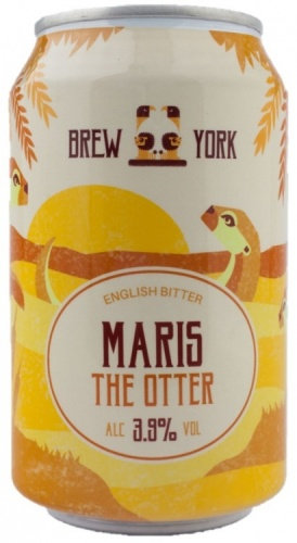 Brew York Maris The Otter 3.9% 24 x 330ml Cans