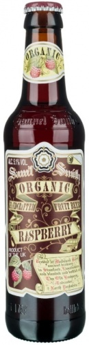 Samuel Smith Organic Raspberry Fruit Beer 5.1% 24 x 355ml Bottles