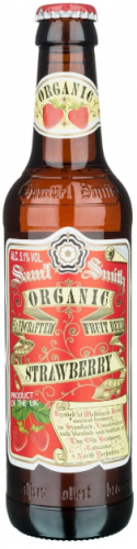 Samuel Smith Organic Strawberry Fruit Beer 5.1% 24 x 355ml Bottles
