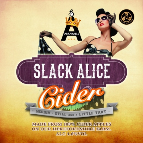 Celtic Marches Slack Alice Medium Cider 4.6% 20L BIB