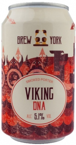 Brew York Viking DNA (Smoked Porter) 5% 24 x 330ml Cans