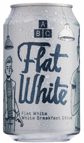 Alphabet Brewing Flat White 7.4% 1 x 330ml Cans