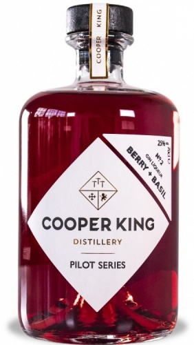 Cooper King Pilot Series No. '2' Berry & Basil Gin Liqueur 25% 1 x 70cl Bottle