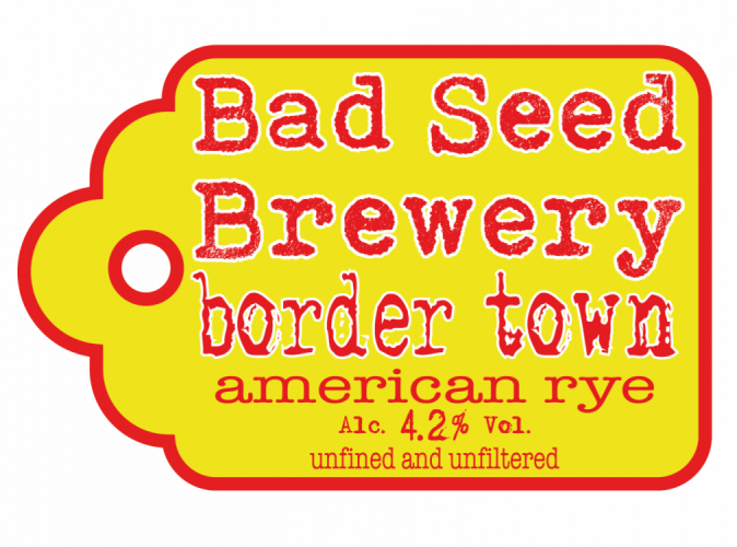 Bad Seed Border Town 4.2% 9g (E Cask)