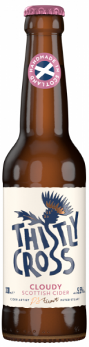 Thistly Cross Cloudy Cider 5.5% 1 x 330ml Bottles