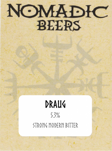 Nomadic Beers Draug 5.3% 9g (E-Cask)