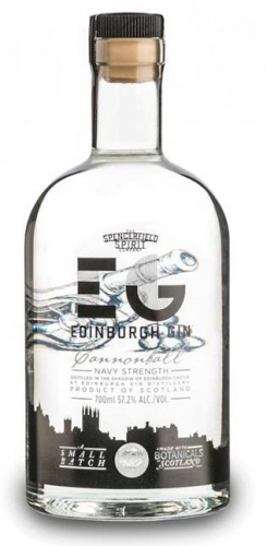Edinburgh Cannonball Gin 57.2% 1 x 70cl Bottle