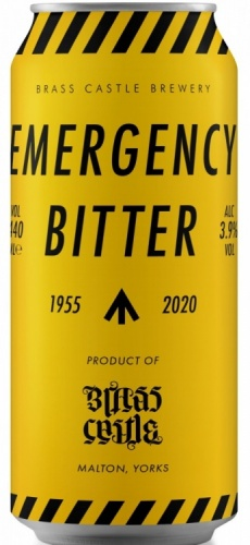 Brass Castle Emergency Bitter 3.9% 12 x 440ml Cans