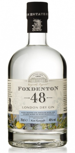 Foxdenton London Dry Gin 48% 1 x 70cl Bottle