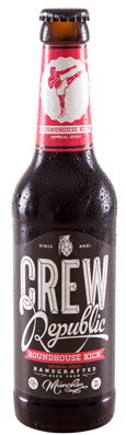 Crew Roundhouse Kick Imperial Stout  9.2% 24 x 330ml Bottles (BEST BEFORE 11/05/2020)