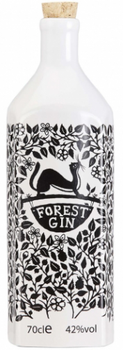 Forrest Gin London Dry (Batch 539 - 1 of 85 Bottles) 42% 1 x 70cl Porcelain Bottle
