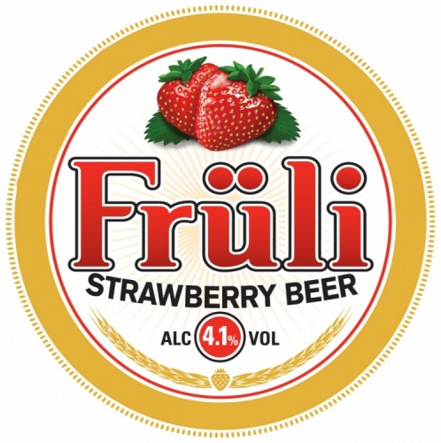 Fruli Strawberry Fruit Beer 4.1% 30L Keg