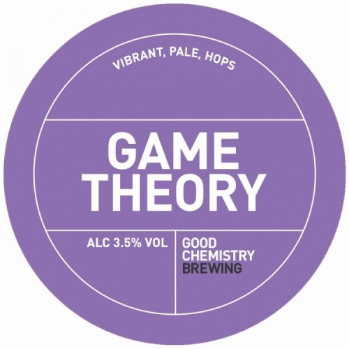 Good Chemistry Game Theory 3.8% 30L (Keg Star)