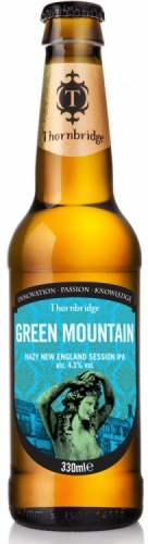 Thornbridge Green Mountain 4.3% 12 x 330ml Bottles