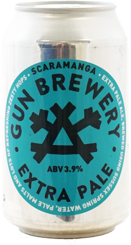 Gun Brewery Scaramanga Extra Pale Ale 3.9% 24 x 330ml Cans