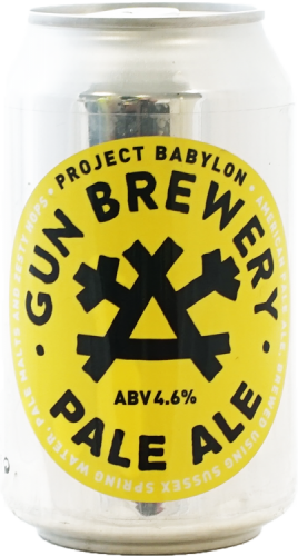 Gun Brewery Project Babylon Pale Ale 4.6% 24 x 330ml Cans