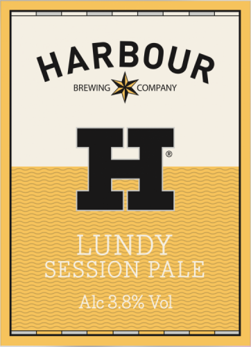 Harbour Lundy Pale 3.8% 9g (E-Cask)