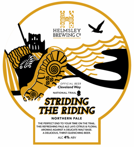 Helmsley Brewing Co Striding The Riding 4% 9g (E-Cask)