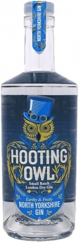 Hooting Owl North Yorkshire Gin 42% 1 x 70cl Bottle
