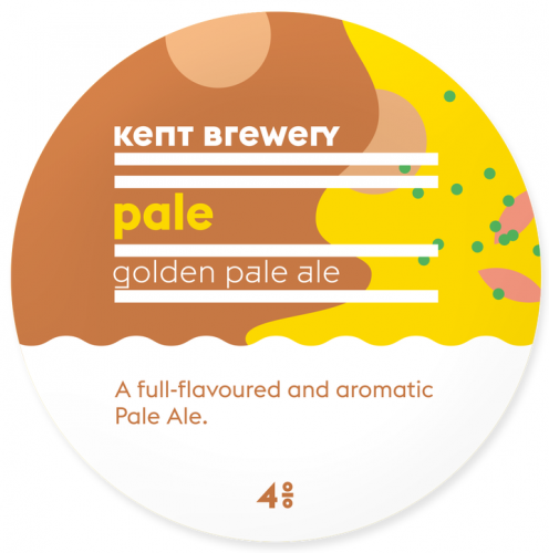 Kent Brewery Pale 4% 9g