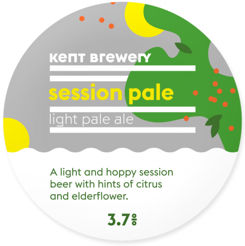 Kent Brewery Session Pale 3.7% 9g