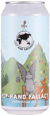 Lost & Grounded Hop-Hand Fallacy 4.4% 1 x 440ml Cans