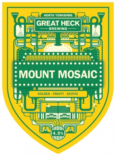 Great Heck Mount Mosaic 4.5% 9g