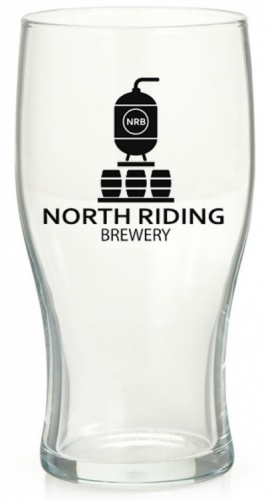 North Riding Pint Glass (Box of 12)