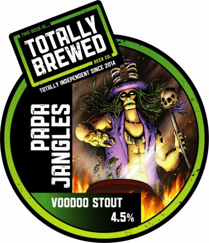 Totally Brewed Papa Jangles Voodoo Stout 4.5% 9g