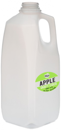 Pulp Apple Cider 4.7% 4 Pint Container