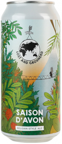 Lost & Grounded Saison D'Avon 6.5% 1 x 440ml Cans