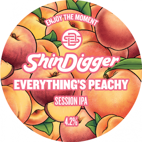Shindigger Everything Is Peachy Session IPA 4.2% 30L (E-Keg)