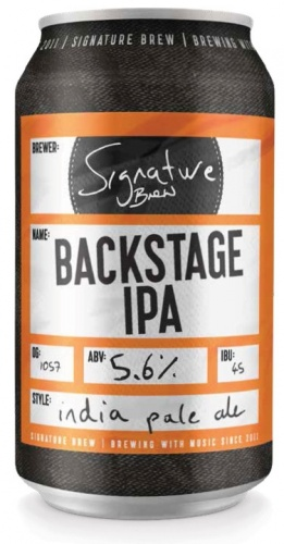 Signature Backstage IPA 5.6% 24 x 330ml Cans