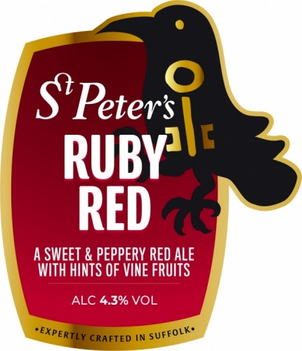 St Peter's Ruby Red 4.3% 9g