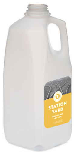 Tapped Brew Co Station Yard 4.2% 4 Pint Container