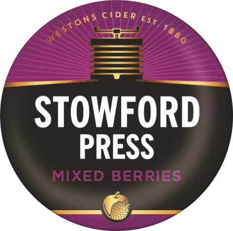 Westons Stowford Press Mixed Berries Cider 4% 50L Keg