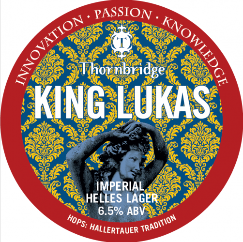 Thornbridge King Lukas 6.5% 30L (Keg-Star)