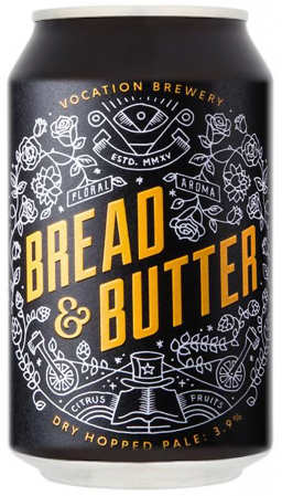 Vocation Bread & Butter 3.9% 12 x 330ml Cans