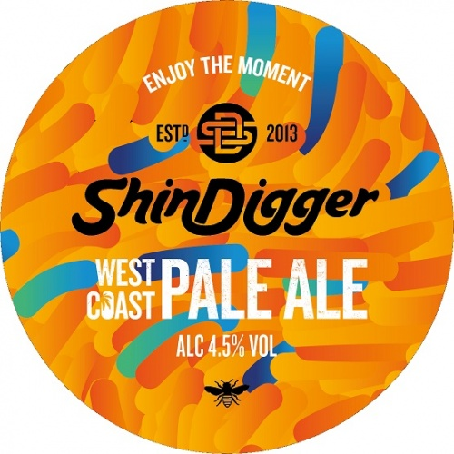 Shindigger West Coast Pale 4.5% 30L (E-Keg)