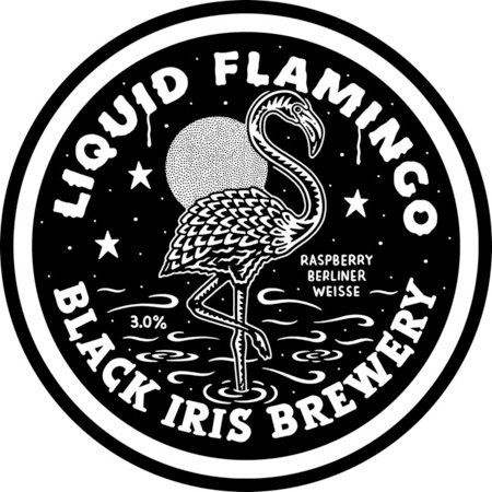 Black Iris Liquid Flamingo 3% 30L Key Keg