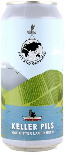 Lost & Grounded Keller Pils 4.8% 1 x 440ml Cans
