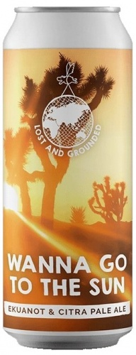 Lost & Grounded Wanna Go To The Sun 4.6% 1 x 440ml Cans