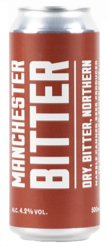 Marble Manchester Bitter 4.2% 1 x 500ml Cans