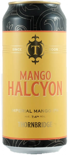 Thornbridge Mango Halcyon 7.4% 1 x 440ml Cans