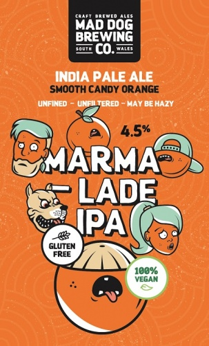 Mad Dog Marmalade IPA 4.5% 9g (E-Cask)