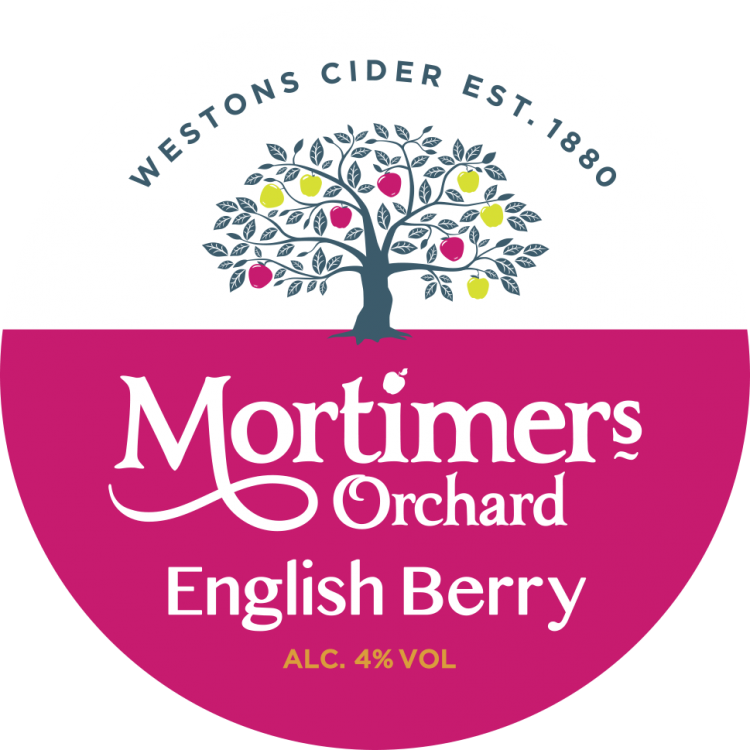 Westons Mortimers English Berry 4% 50L Keg