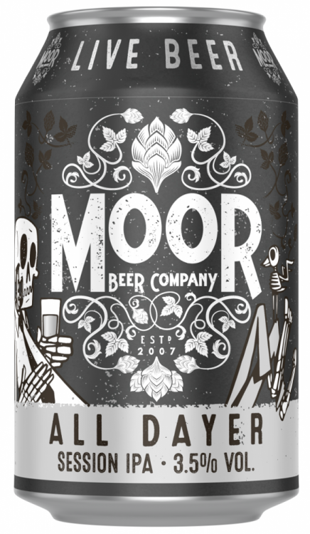 Moor All Dayer 3.5% 1 x 330ml Cans