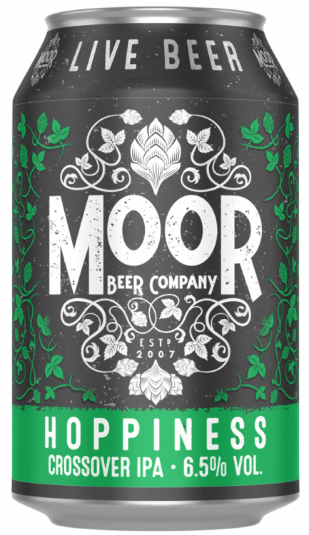 Moor Hoppiness 6.7% 1 x 330ml Cans